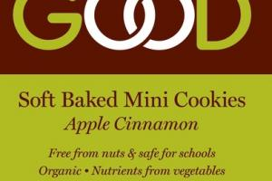 ORGANIC APPLE CINNAMON SOFT BAKED MINI COOKIES