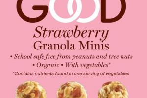 STRAWBERRY GRANOLA MINIS