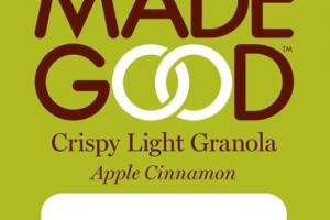 APPLE CINNAMON CRISPY LIGHT GRANOLA