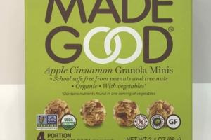 APPLE CINNAMON GRANOLA MINIS