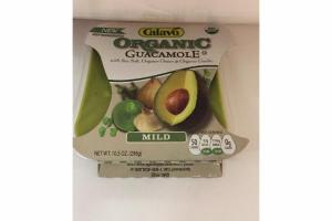 ORGANIC MILD GUACAMOLE WITH SEA SALT, ORGANIC ONION & ORGANIC GARLIC
