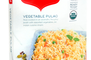 Medium Vegetable Pulao