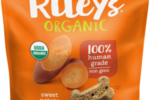 Organic Sweet Potato Recipe Dog Treats
