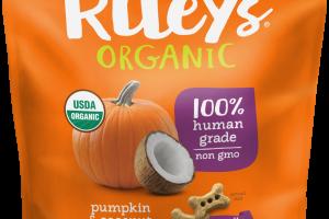 Pumpkin & Coconut Recipe Dog Treats