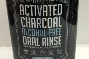 Activated Charcoal Alcohol-free Oral Rinse, Classic Mint