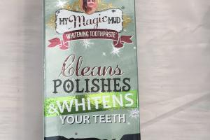 Activated Charcoal Fluoride-free Toothpaste, Wintergreen