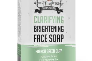 CLARIFYING BRIGHTENING FACE SOAP, FRENCH GREEN CLAY
