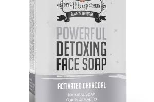 POWERFUL DETOXING FACE SOAP, ACTIVATED CHARCOAL
