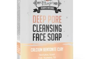 DEEP PORE CLEANSING FACE SOAP, CALCIUM BENTONITE CLAY