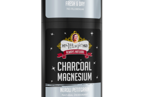 NEROLI PETITGRAIN NATURAL DEODORANT, CHARCOAL MAGNESIUM