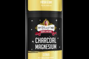 CHARCOAL MAGNESIUM NATURAL DEODORANT, CITRUS