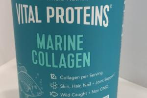 Unflavored Marine Collagen Dietary Supplement