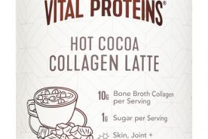 HOT COCOA COLLAGEN LATTE DIETARY SUPPLEMENT