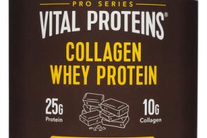 DARK CHOCOLATE & COCONUT WATER COLLAGEN WHEY PROTEIN DIETARY SUPPLEMENT