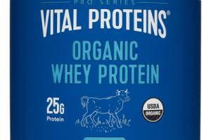 UNFLAVORED ORGANIC WHEY PROTEIN DIETARY SUPPLEMENT