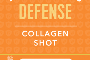 COLLAGEN SHOT DEFENSE DIETARY SUPPLEMENT, TURMERIC, PINEAPPLE & LIME
