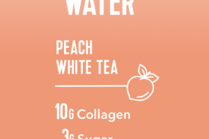PEACH WHITE TEA COLLAGEN WATER