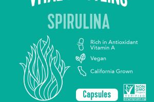 SPIRULINA DIETARY SUPPLEMENT CAPSULES