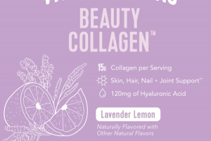 BEAUTY COLLAGEN DIETARY SUPPLEMENT, LAVENDER LEMON