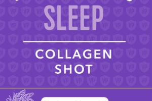 SLEEP COLLAGEN SHOT DIETARY SUPPLEMENT, BLUEBERRY & LAVENDER