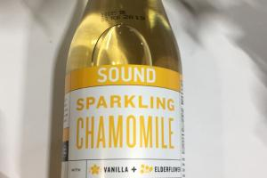 Organic Sparkling Tea With Vanilla + Elderflower