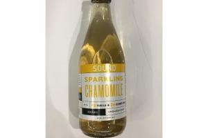 ORGANIC UNSWEETENED SPARKLING CHAMOMILE WITH VANILLA + ELDERFLOWER