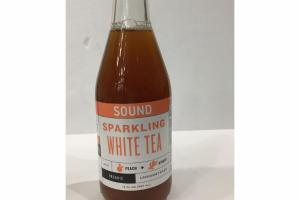 ORGANIC UNSWEETENED PEACH + GINGER SPARKLING WHITE TEA