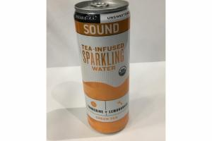 TANGERINE + LEMONGRASS ORGANIC UNSWEETENED TEA-INFUSED SPARKLING WATER GREEN TEA
