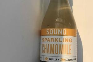 ORGANIC UNSWEETENED SPARKLING CHAMOMILE WITH VANILLA + ELDERFLOWER