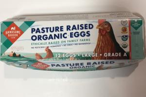 Pasture Raised Organic Eggs