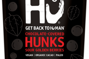 SOUR GOLDEN BERRIES 70% CACAO CHOCOLATE-COVERED HUNKS