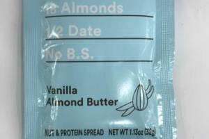 VANILLA ALMOND BUTTER NUT & PROTEIN SPREAD