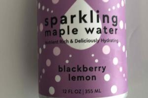 BLUEBERRY LEMON SPARKLING MAPLE WATER