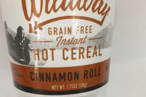 Grain Free Instant Hot Cereal