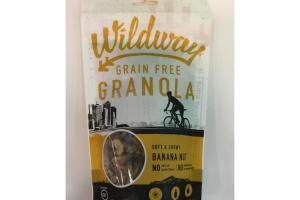 SOFT & CHEWY BANANA NUT GRAIN FREE GRANOLA