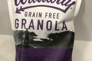 DARK CHOCOLATE SEA SALT GRAIN FREE GRANOLA