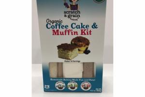 ORGANIC COFFEE CAKE & MUFFIN KIT