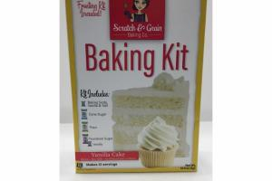 VANILLA CAKE BAKING KIT