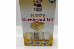 ORGANIC HONEY CORNBREAD KIT