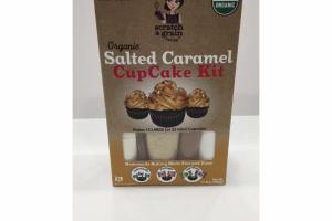 ORGANIC SALTED CARAMEL CUP CAKE KIT