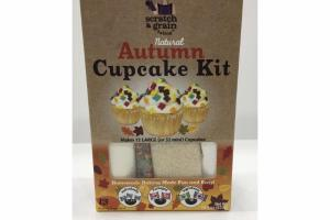 NATURAL AUTUMN CUPCAKE KIT