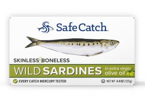 SKINLESS & BONELESS WILD SARDINES IN EXTRA VIRGIN OLIVE OIL