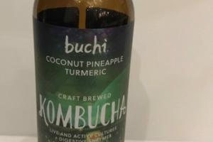 COCONUT PINEAPPLE TURMERIC, SEED CRAFT BREWED KOMBUCHA