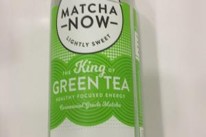 Matcha Now Lightly Sweet Green Tea