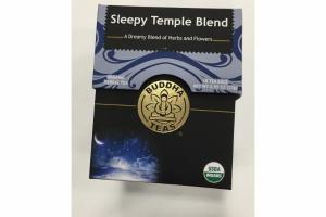 SLEEPY TEMPLE BLEND ORGANIC HERBAL TEA