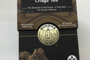 CHAGA WILD CRAFTED HERBAL TEA BAGS