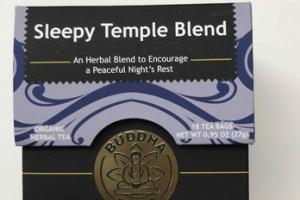 ORGANIC SLEEPY TEMPLE BLEND HERBAL TEA BAGS