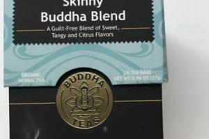 SKINNY BUDDHA BLEND ORGANIC HERBAL TEA BAGS
