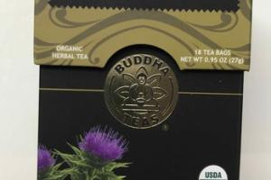 ORGANIC MILK THISTLE HERBAL TEA BAGS