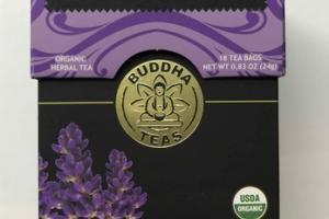ORGANIC LAVENDER HERBAL TEA